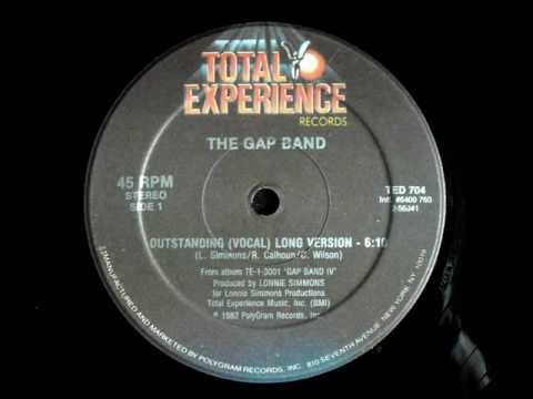 The Gap Band - Outstanding Original 12 Inch Version 1982