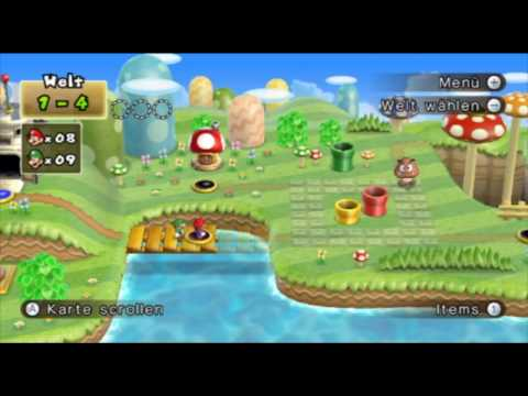 New Super Mario Bros. Wii Firstlook (Part 3/3)