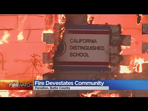 Camp Fire 6 p.m. Update: Fire Brings Devastation To Paradise