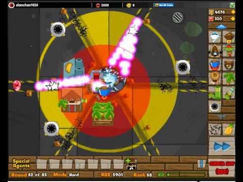 Btd5 bloons tower defense 5 bloonchipper level 4 upgrades btd5