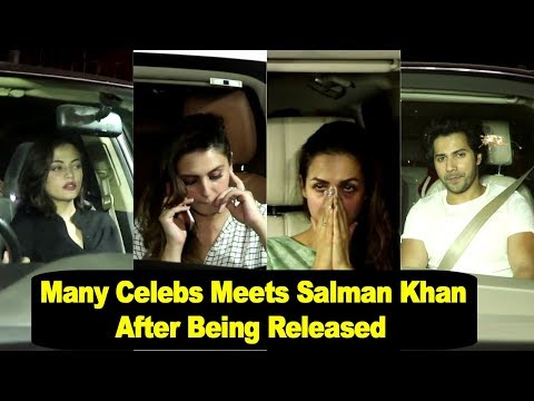Many Celebs Visit Salman's House To Meet Him
