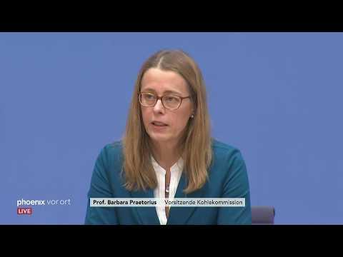 Pressekonferenzen zum Kohleausstieg bis 2038 und Einord ...