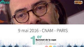 1 er sommet de la vape: Jacques Le Houezec vous invite !