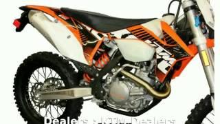 8. 2013 KTM XC 200 W - Features & Details