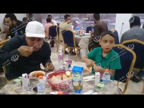 مائدة رمضانية للمارين عبر مدينة زوارة
