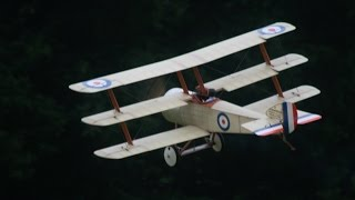 GIANT SCALE RC WW1 SCOUT / FIGHTERS DAWN PATROL UK AT WESTON PARK MODEL AIRCRAFT SHOW - 2014