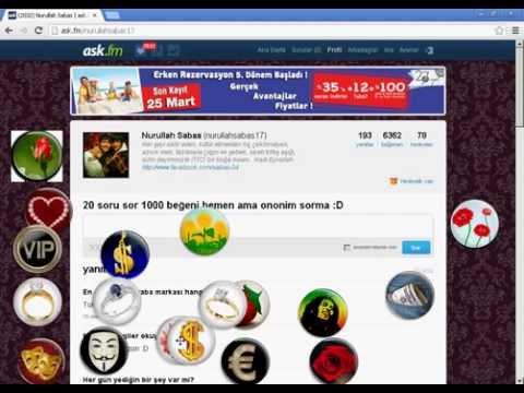 2013 ask.fm hediye hilesi KaLıCı