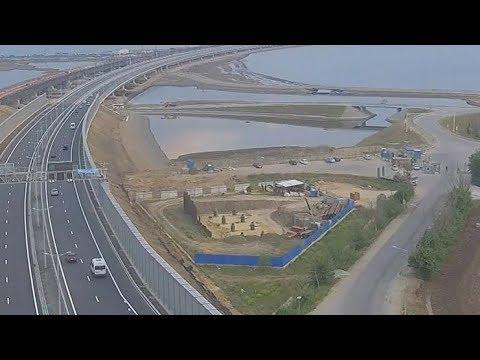Крымский мост попал на «Яндекс. Карты»