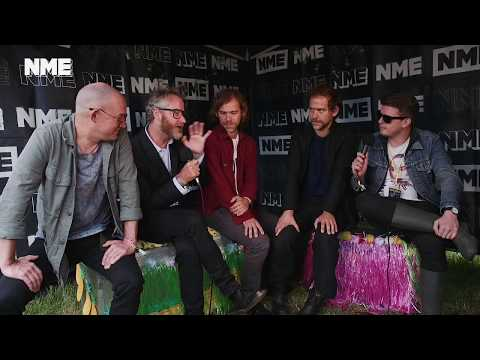 The National at Glastonbury 2017: Discussing their new album, lyrics, headlining and Dave Grohl (видео)
