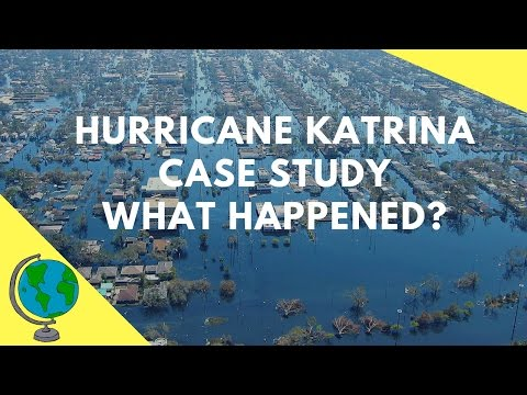 Hurricane Katrina 2005  - Geography Case Study & overview of the events