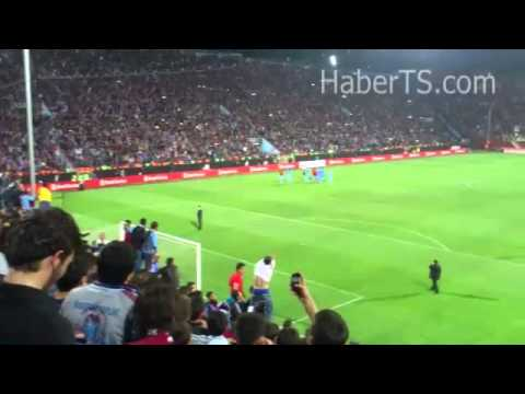 Trabzonspor 6-0 Sivasspor / Maç Sonu Avni Aker
