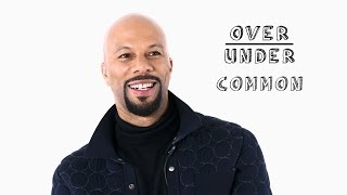 Common Rates Oprah, Halloween, and Being Produced by Kanye West | Over/Under
