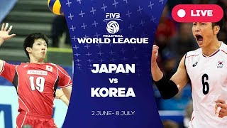 Video Japan v Korea - Group 2: 2017 FIVB Volleyball World League MP3, 3GP, MP4, WEBM, AVI, FLV Mei 2018