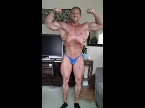 David Paterik posing 2 weeks out