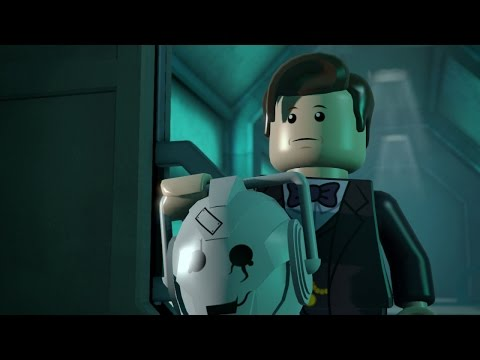 What a LEGO Doctor Who Video Game Might Look Like