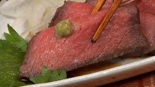 Easy Japanese-inspired Roast Beef 簡単和風ローストビーフ 作り方レシピ