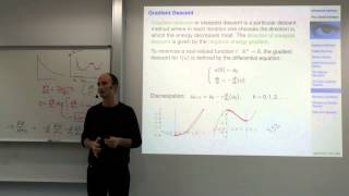 Variational Methods For Computer Vision - Lecture 6  (Prof. Daniel Cremers)
