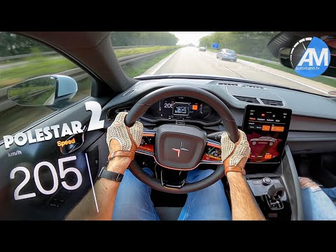 Polestar 2 (408hp) - 0-210 km/h LAUNCH CONTROL!