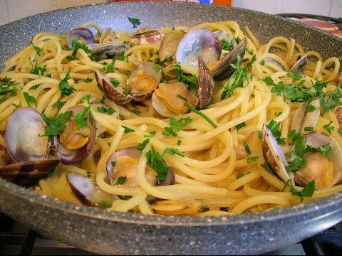 spaghetti con le vongole - ricetta