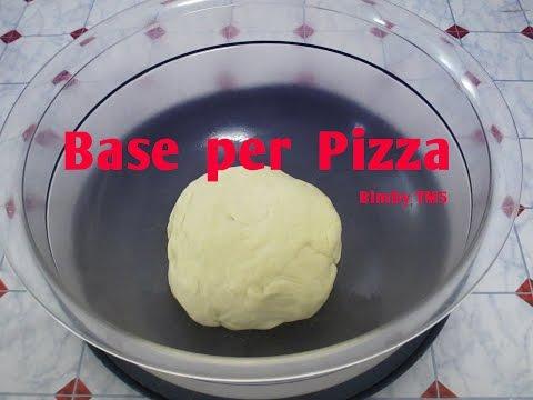 video ricetta: bimby - base per pizza