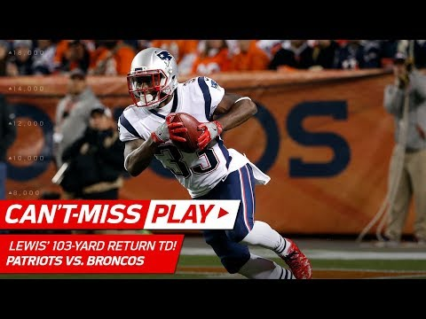Video: Dion Lewis' 103-Yd Kick Return TD vs. Denver! | Can't-Miss Play | NFL Wk 10 Highlights