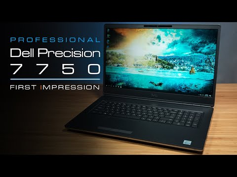 Dell Precision 7750 (2020) Unboxing and First Impression