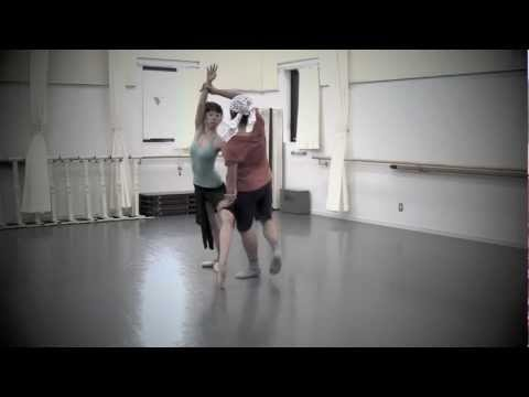 "A choreographer's work for ""3 in Passacaglia"""