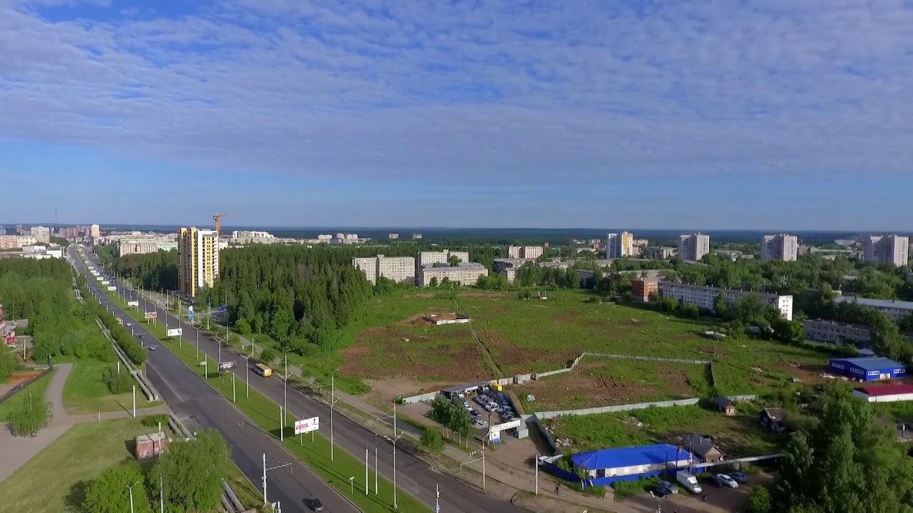 Территория конкурсного проектирования ЖК «Покровский», Ижевск, 2018