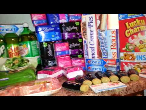 Safeway/Target/Fry's Food Store Couponing Haul