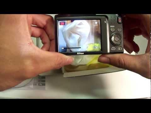Nikon Coolpix S3100 Unboxing