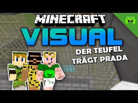 MINECRAFT Adventure Map # 48 - Visual Project 2 «» Let's Play Minecraft Together | HD