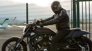 5. Harley Davidson Night Rod Special - customized backrest