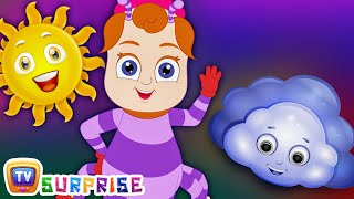 Surprise Eggs Nursery Rhymes Toys  Incy Wincy Spider  Learn Colours & Objects  ChuChu TV Cutians