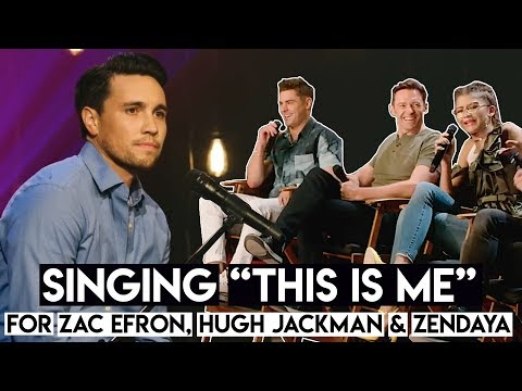 gratis download video - Singing-This-Is-Me-for-Zac-Efron-Hugh-Jackman--Zendaya-from-The-Greatest-Showman-Movie
