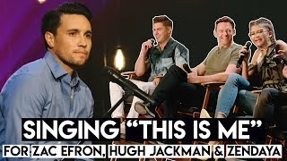 "Video Singing ""This Is Me"" for Zac Efron, Hugh Jackman & Zendaya (from The Greatest Showman Movie) MP3, 3GP, MP4, WEBM, AVI, FLV April 2018"