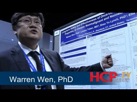 Warren Wen, PhD, Examines Whether Higher Doses of Hydrocodone are Necessary