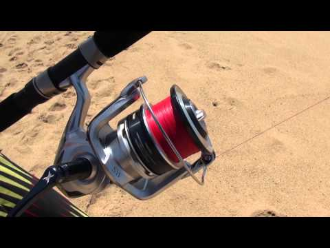 saragosa - Check the New Saragosa reel and Technium rod getting put to the test by Shaun Jacobs.