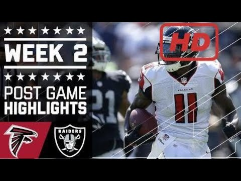 Falcons vs. Raiders | NFL Week 2 Game Highlights