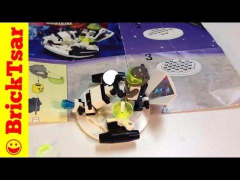 LEGO VINTAGE LEGOLAND COMPLET 6815 + Notice Espace 3 Set !