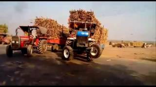New Holland 3630 Vs Massey Ferguson 5245 Open Channel