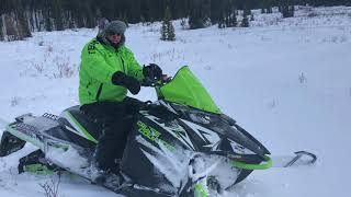 3. 2018 Arctic Cat XF 9000 Cross Country Limited