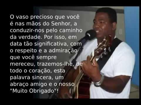 Tragetória de Pr.  Marco Aurélio Silva da IMW Itapebi 2014