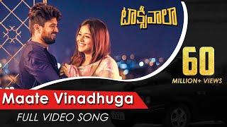 Video Maate Vinadhuga Full Video Song | Taxiwaala Video Songs | Vijay Deverakonda, Priyanka Jawalkar MP3, 3GP, MP4, WEBM, AVI, FLV Maret 2019