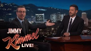 Video Jimmy Kimmel Doubts John Oliver's Sincerity After Emmy Win MP3, 3GP, MP4, WEBM, AVI, FLV Januari 2018