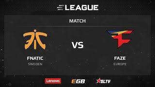 fnatic vs FaZe, game 2