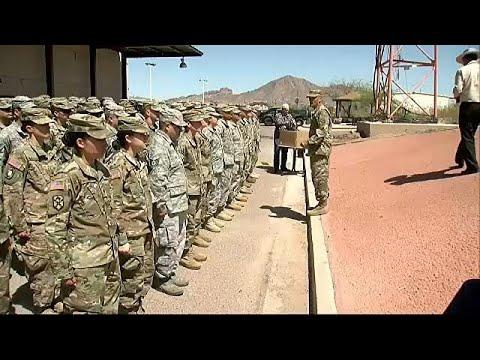 Εθνοφρουρά στα σύνορα με το Μεξικό