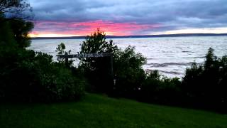 Ashland (WI) United States  City pictures : Lake Superior Sunset Timelapse - Ashland, WI