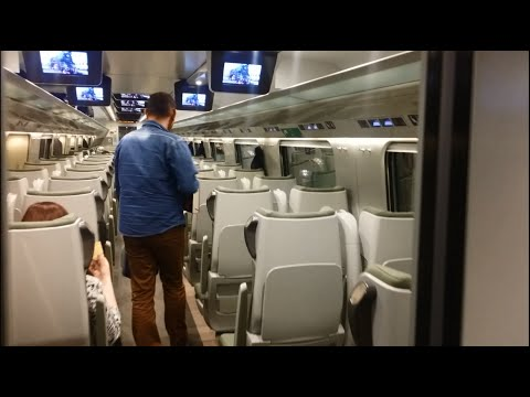 Inside the Polish High Speed Train / PKP Pendolino