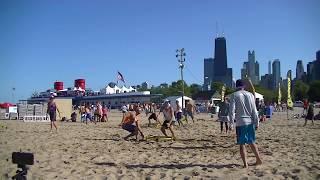 Golden Set vs Origin Impact Semifinals Game 1 Chicago Spikeball Grand Slam 2017