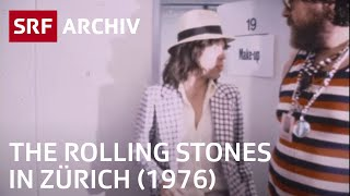 The Rolling Stones in Zürich (1976) | SRF Archiv